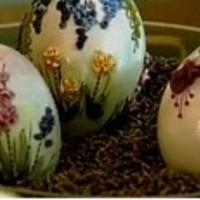 Hímzett hímes tojás