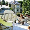 Erkélyzöldítő projekt az egykori Rákosi-villa kertjében – Mimi erkélye