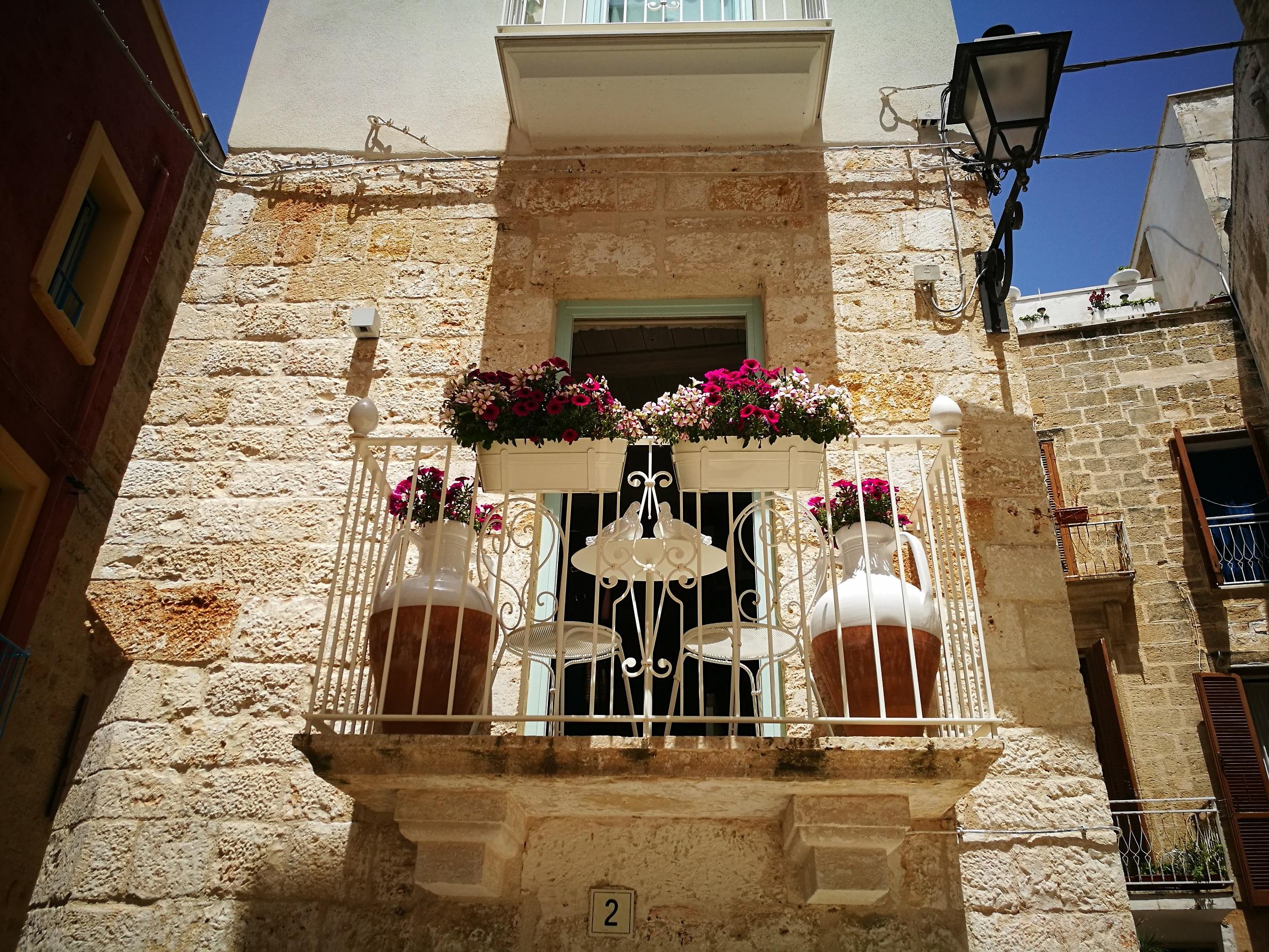 Csodás balkonok Bariból és környékéről