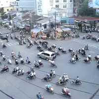 A Saigoni lámpanélküli KRESZ_Traffic in Saigon
