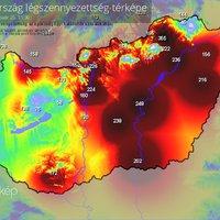 Bálványos térségében továbbra is tiszta a levegő