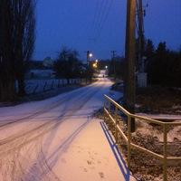 Ma hajnalra Bálványoson... (idei első hó)