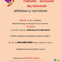 Farsangi Kavalkád - Meghívó (2019.)