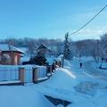 Januári hó Bálványoson
