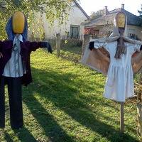 Halloweenra készülődve...