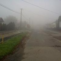 Reggeli köd Bálványoson