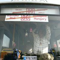 Visszaindult a busz