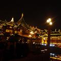 Teaház a Yu Yuan vízikertben