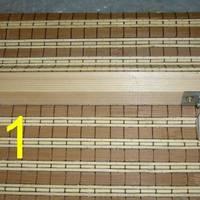 Hogyan cseréljünk felhúzó zsinórt a bambuszrolón?