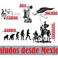 Saludos desde México!