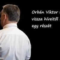 Orbán Viktor el is lophatná a pénzt, de most levélben kéri vissza!