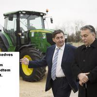 Mészáros Lőrinc vagyok, és nagyon, de nagyon hálás Orbán Viktornak!