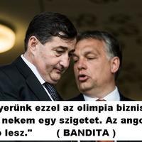 Mészáros Lőrinc földjén járok én, aki megvette az országot Orbán Viktornak.