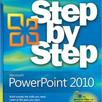 Microsoft PowerPoint 2010 Step By Step (Step By Step) Free Download