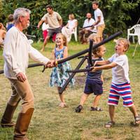 Gyerekek a Misztrál fesztiválon