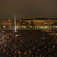 Tüntetés utáni másnap