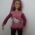 Barbie fülvédő,igazi csajos kivitelben