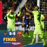 Meccs utáni reakciók #LevanteBarca