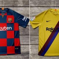 A Barca 2019/20-as szereléseinek végleges designja