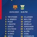 Meccskeret #BarcaLeganes