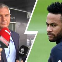 Javier Bordas-t a Neymar ügyről kérdezték