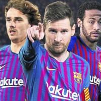 Hogyan állna fel Neymarral és Griezmannal a Barca?