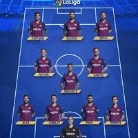 Hivatalos kezdőcsapat #BarcaEibar