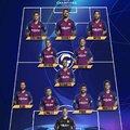 Hivatalos kezdőcsapat #BarcaLyon