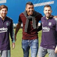 Paulinho meglátogatta volt csapattársait