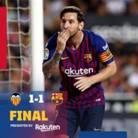 A Mestalla is kemény falatnak bizonyult #ValenciaBarca