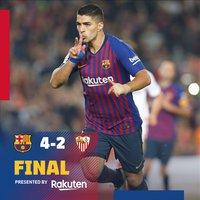 Győzelem vezéráldozattal #BarcaSevilla