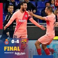 Meccs utáni reakciók #EspanyolBarca