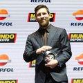 Messi átvette az MVP díjat