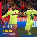 Meccs utáni reakciók #GironaBarca