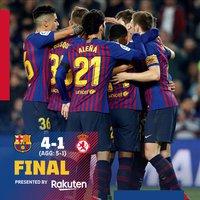 Meccs utáni reakciók #CopaBarca
