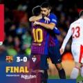 Meccs utáni reakciók #BarcaEibar