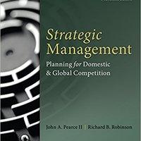 \UPDATED\ Strategic Management (Irwin Management). centro Siete mantiene Video Lifelong