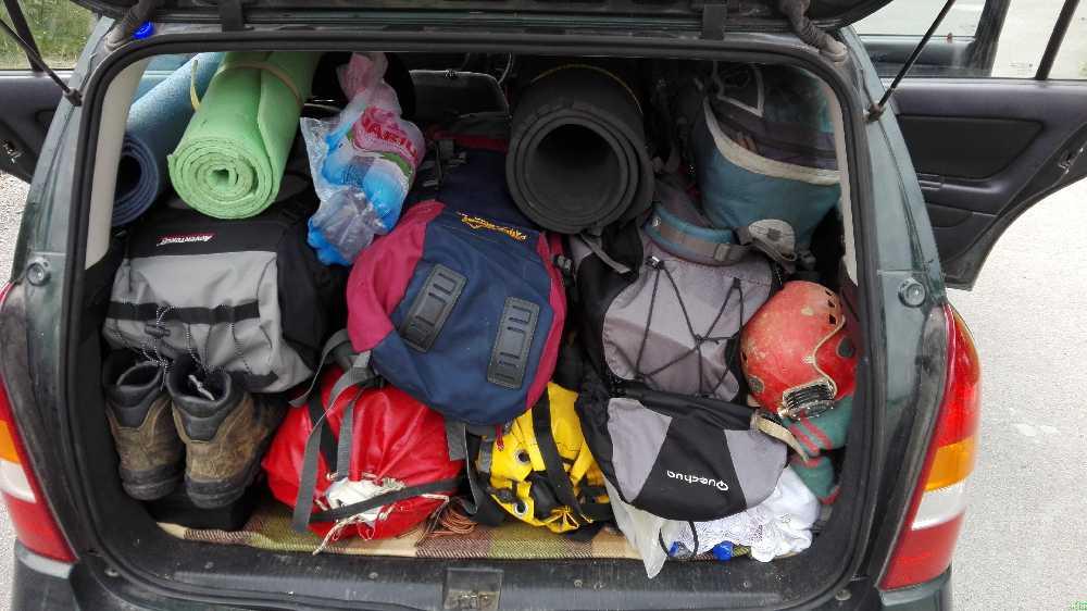 Egy barlangász túra, ahol végre elférünk kényelmesen az autóba (Piri Attila képe)