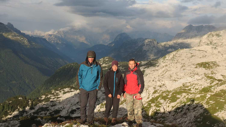 Zoli, Bori és Erik (Szabó Joci képe)