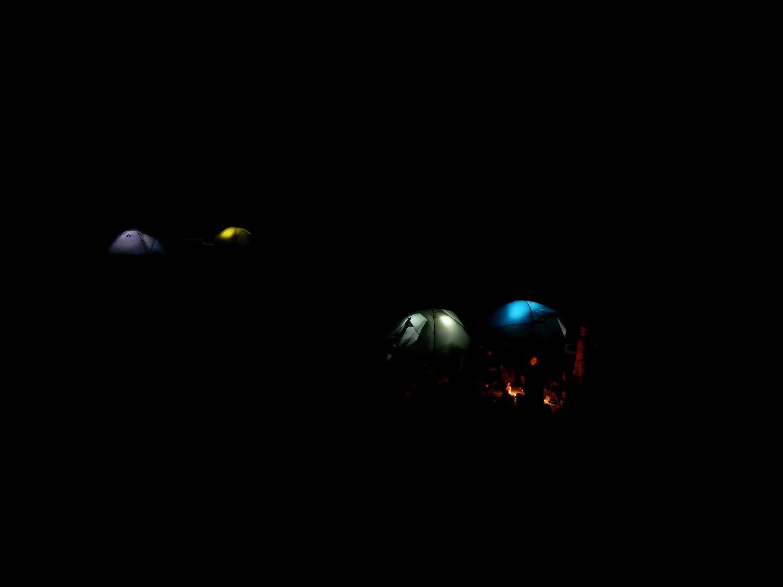 Éjszaka a sátrak (Modor képe)
