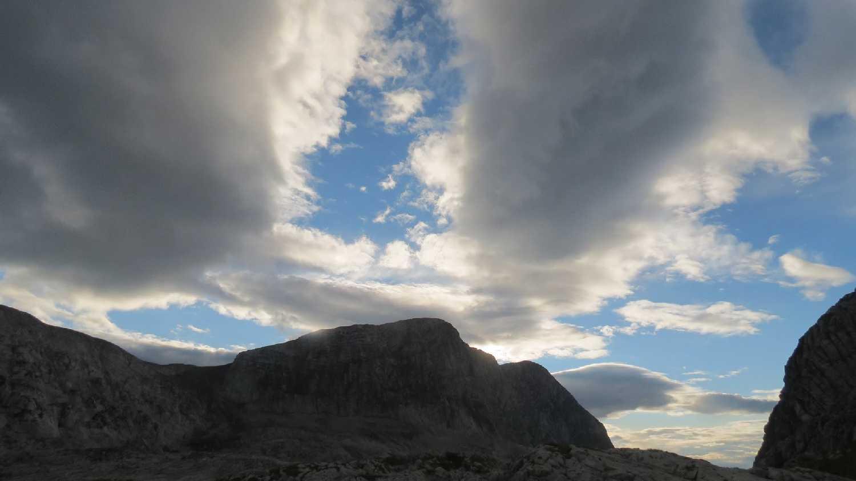 A Grubia felé tekintve a táborból (Szabó Joci képe)