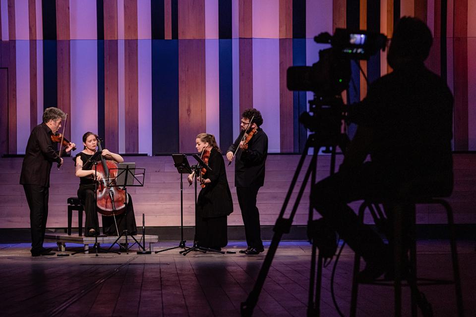 Kelemen Kvartett a BMC-ben / Fotó: Nagy Attila