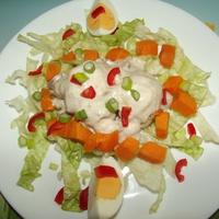 Sokszínű vitamin saláta bátor nyúl konyhájából