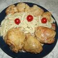 Karfiollal fedett csirkecombok bátor nyúl konyhájából.