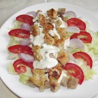 Cézár saláta bátor nyúl konyhájából.