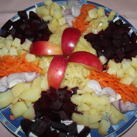 Csupa-csupa vitamin saláta bátor nyúl módra.
