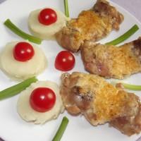 Háromsajtos csirkecomb