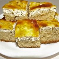 Omlós kapros-túrós süti.