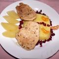 Csirkemell finom téli gyümölcsökkel