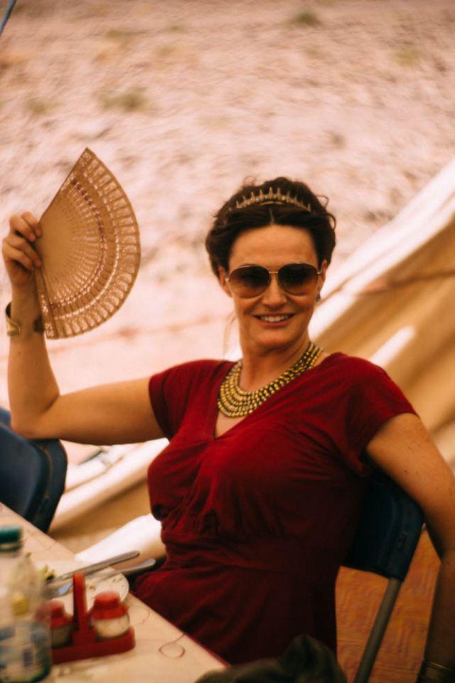 Atlantisz királynéja, Sarah Parish